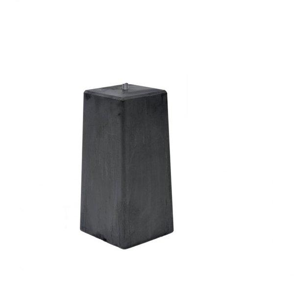Dikke betonpoer 20x20