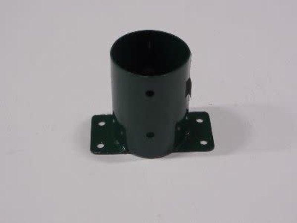 Muurplaat rond 10cm groen