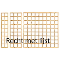Houten Trellis met lijst