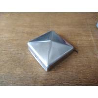 Paalkap piramide RVS