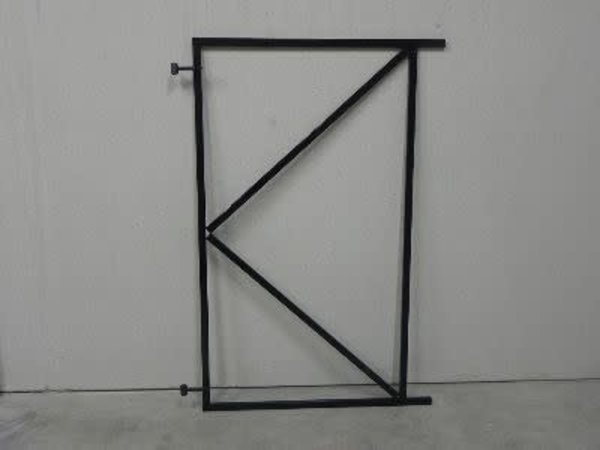 Tuindeur Frame Zwart