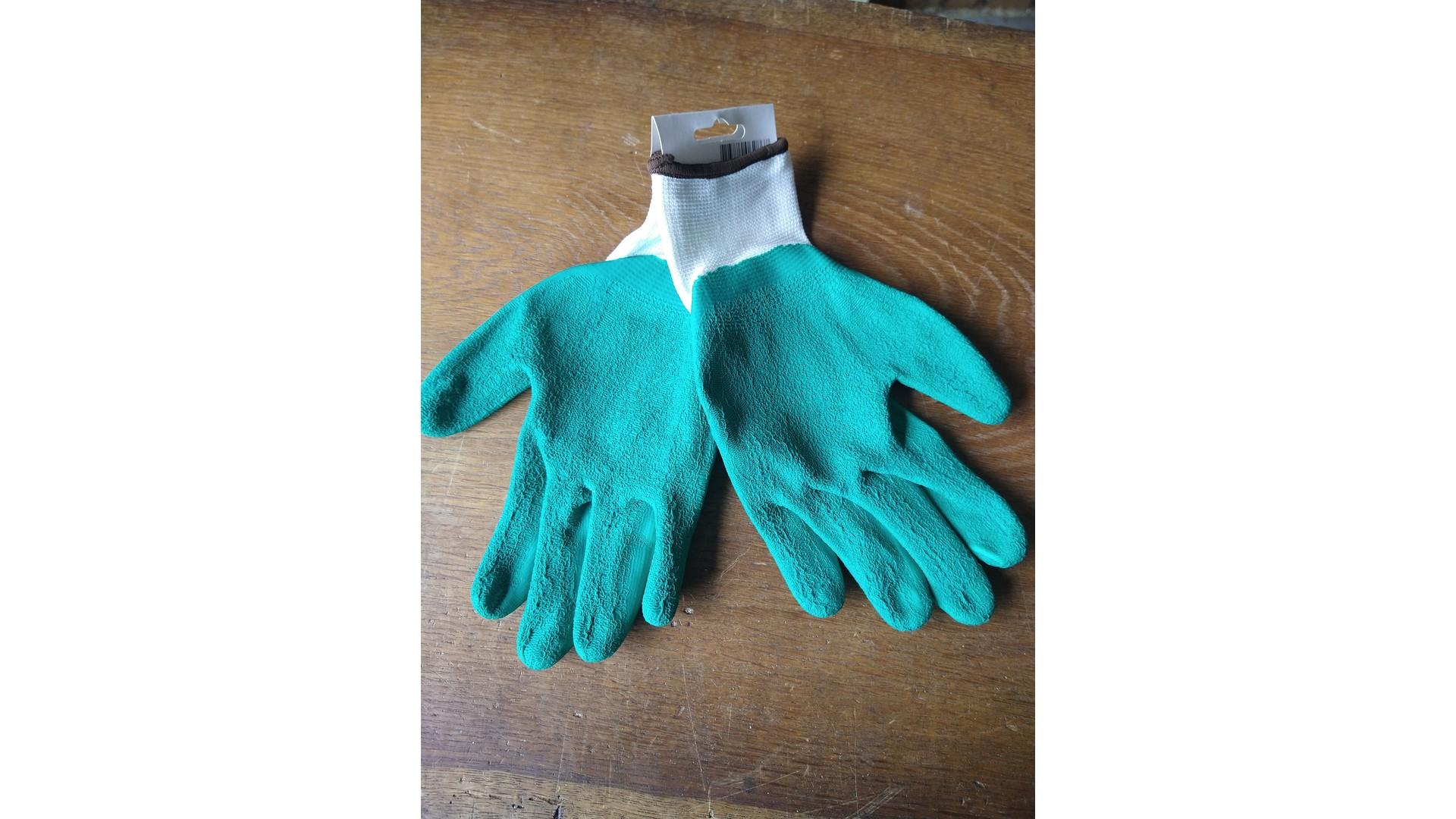 werk handschoen groen