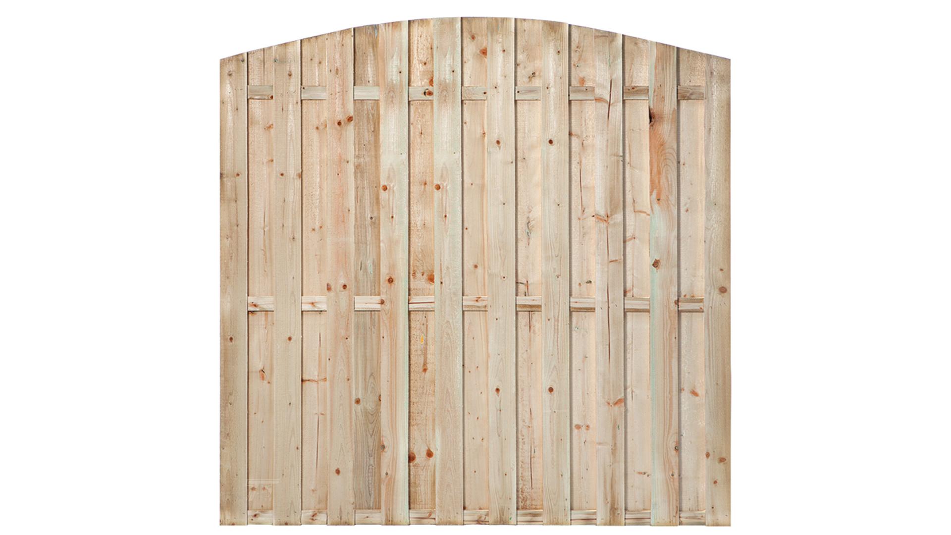 Tuinscherm toog Den Haag 15-planks 180x180 cm