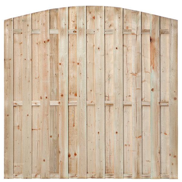 Tuinscherm toog Den haag 180x180 cm - 15 planks