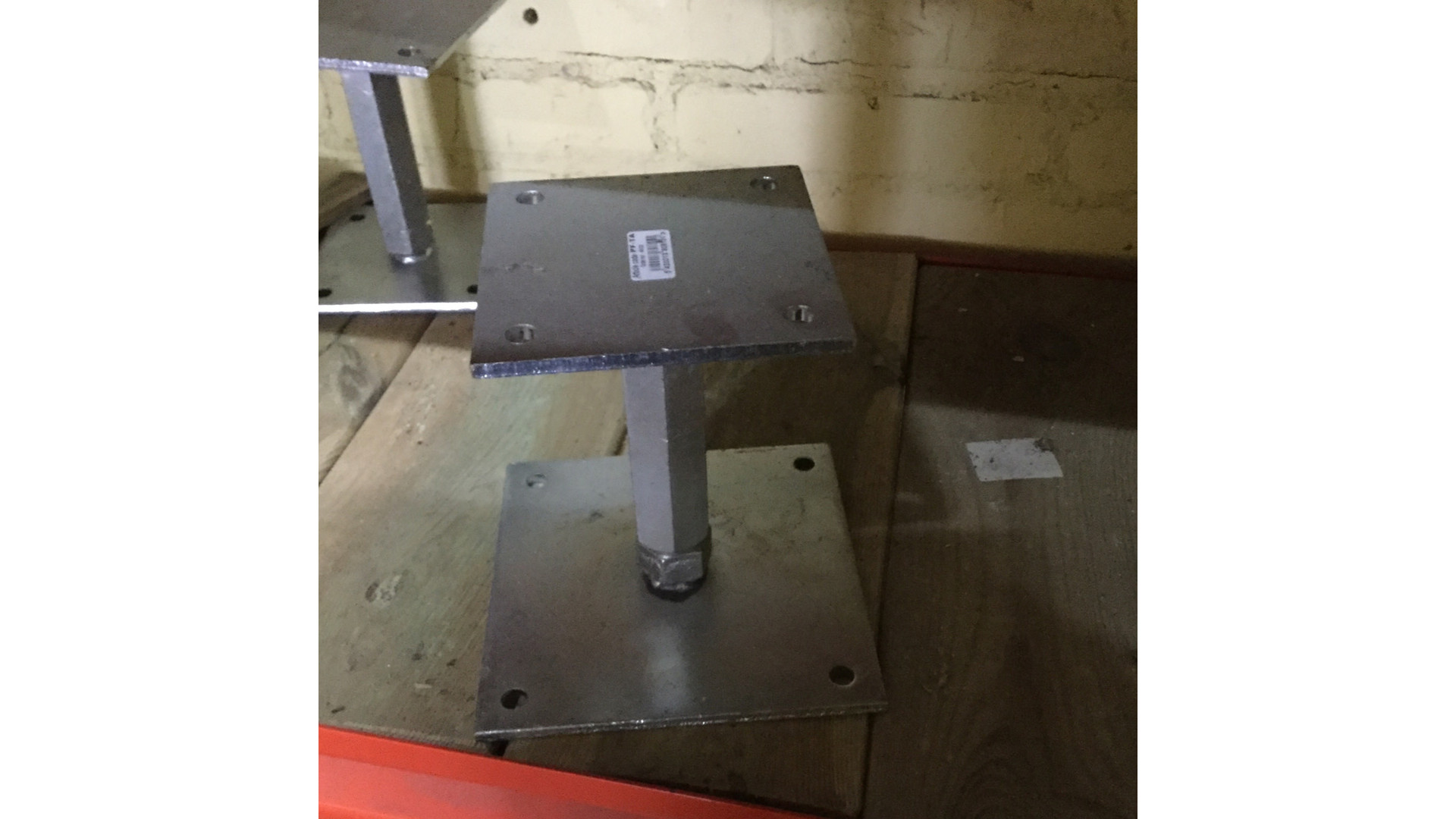 verstelbare paaldrager 12x12 > 14x14