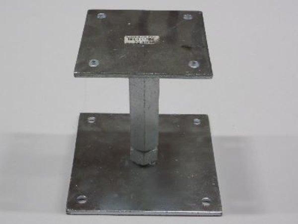 Verstelbaar paaldrager 12x12 > 14x14
