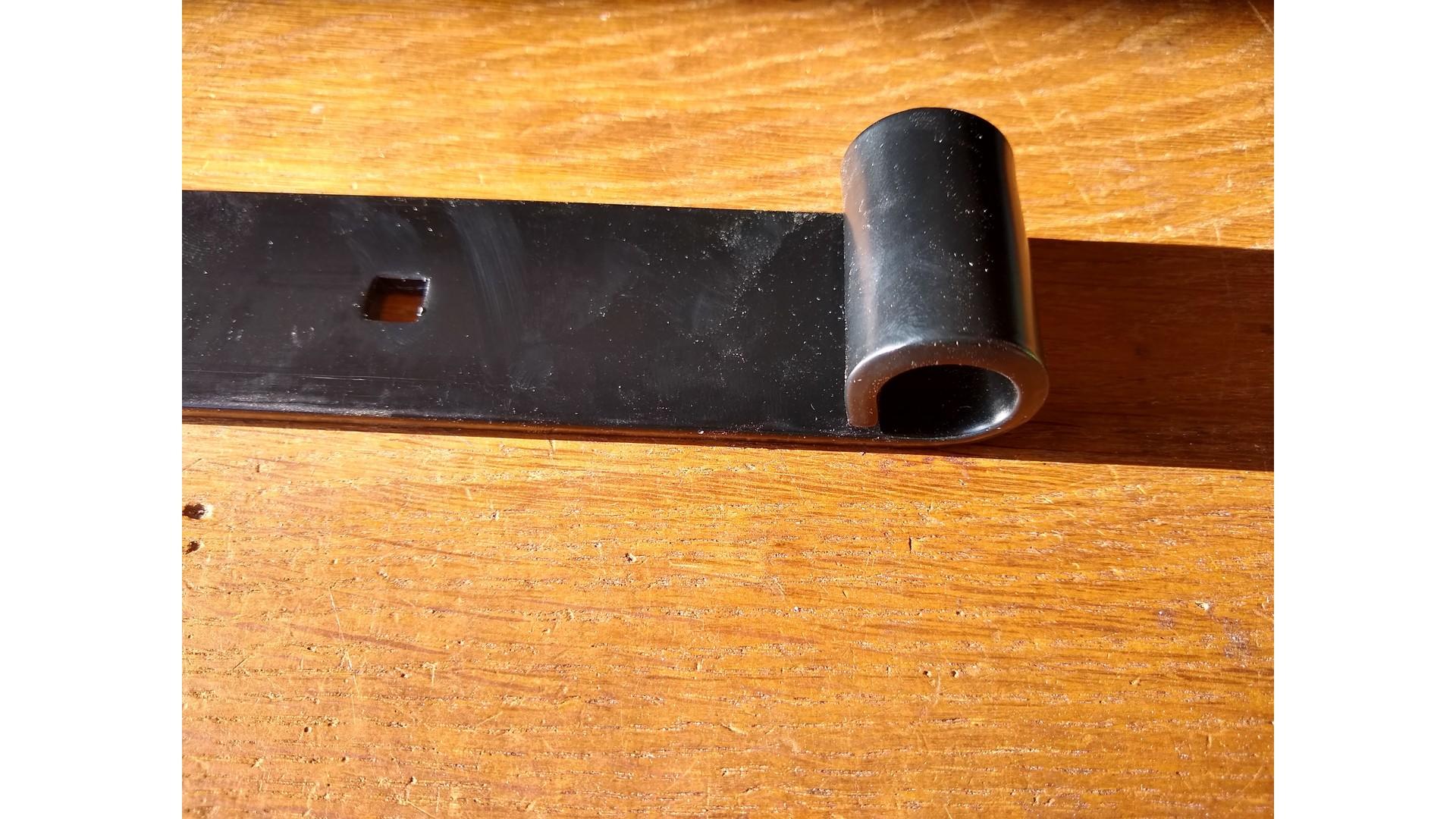 Duimheng Zwart Rustiek