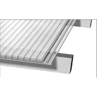 Polycarbonaat Klik systeem 25cm