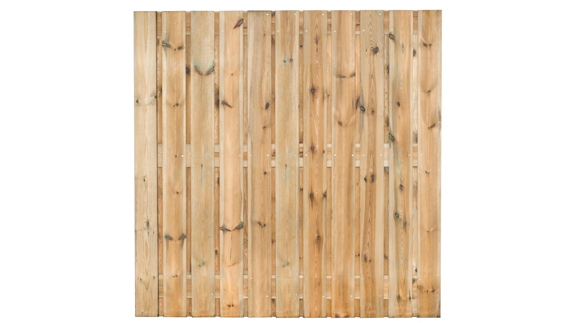 Tuinscherm Zaltbommel 180x180cm 21 planks