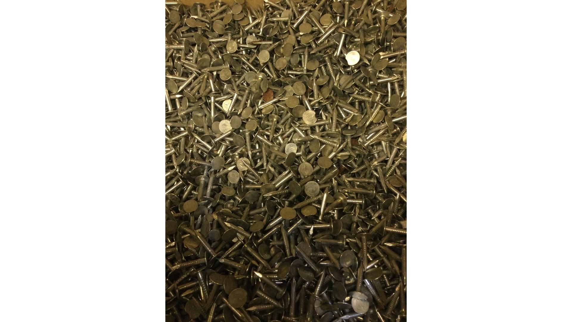 Asphalt / dakshingel spijker 3x20 per 100 gr.