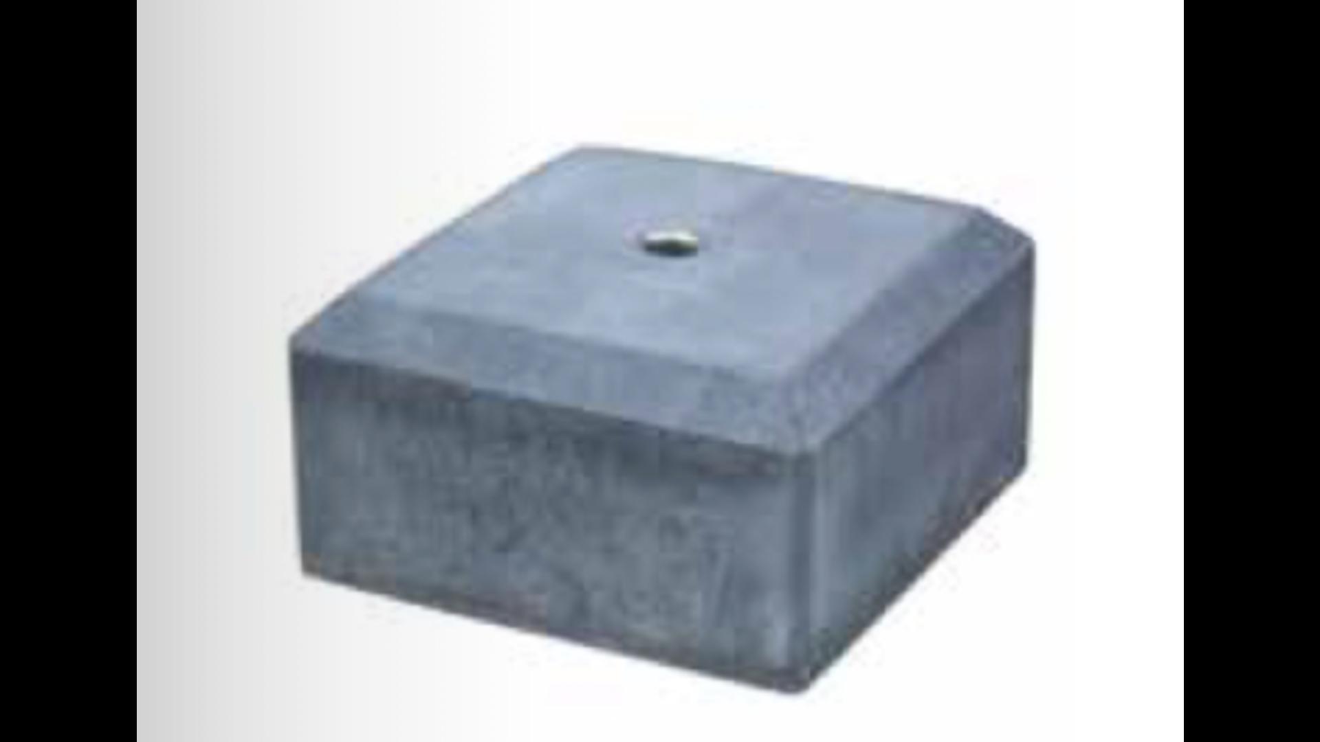 Betonpoer halfmodel tegel M20
