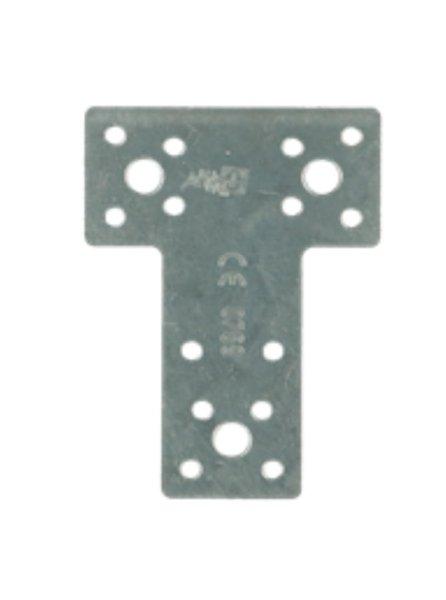T verbindingsplaat 80x38x68 mm