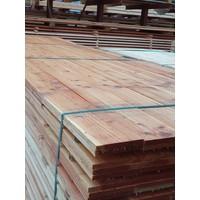 Douglas plank  ongeschaafd 1.6x14 cm