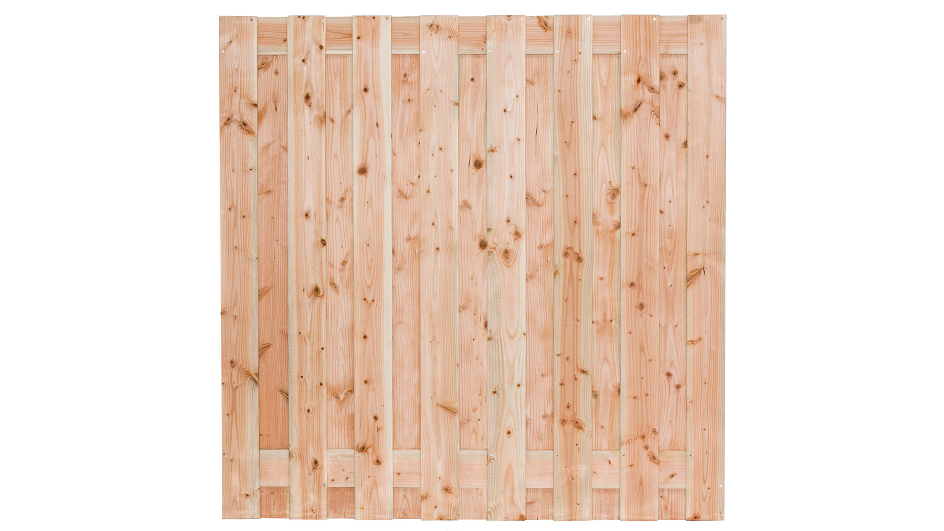 Tuinscherm Zwarte Woud lariks/douglas 19-planks