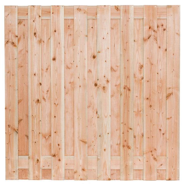 Tuinscherm Zwarte woud lariks/douglas 19 plank