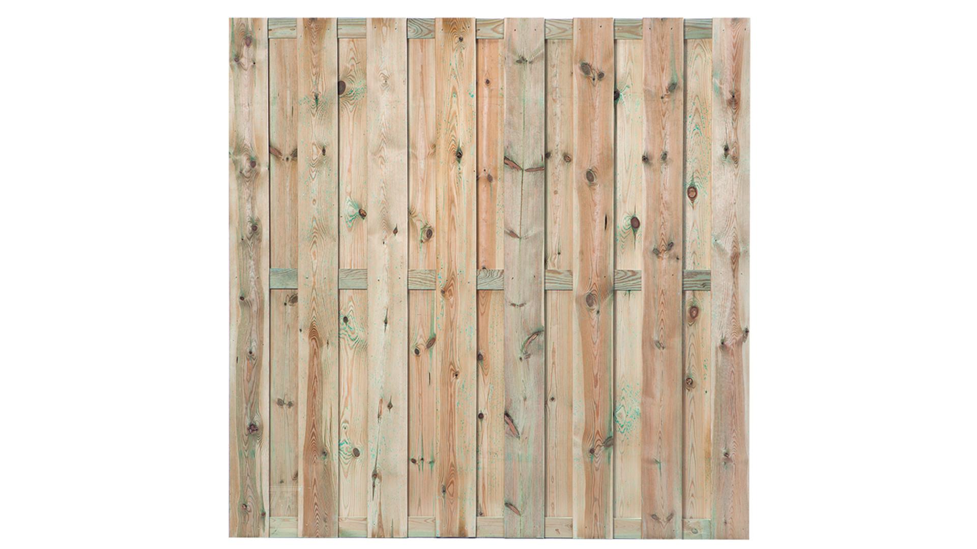 Tuinscherm Maastricht 180x180 cm - 15 planks