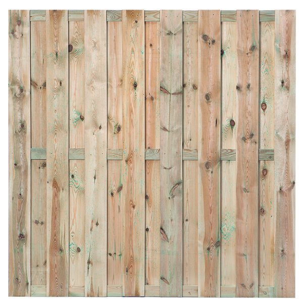 Tuinscherm Maastricht grenen 15-planks 180x180 cm