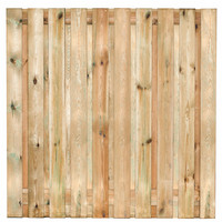 Tuinscherm Enschede 180x180 cm - 19 planks