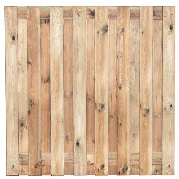 Tuinscherm Coevorden 180x180 cm - 15 planks