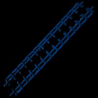 Flexfence shutterrails 166 cm