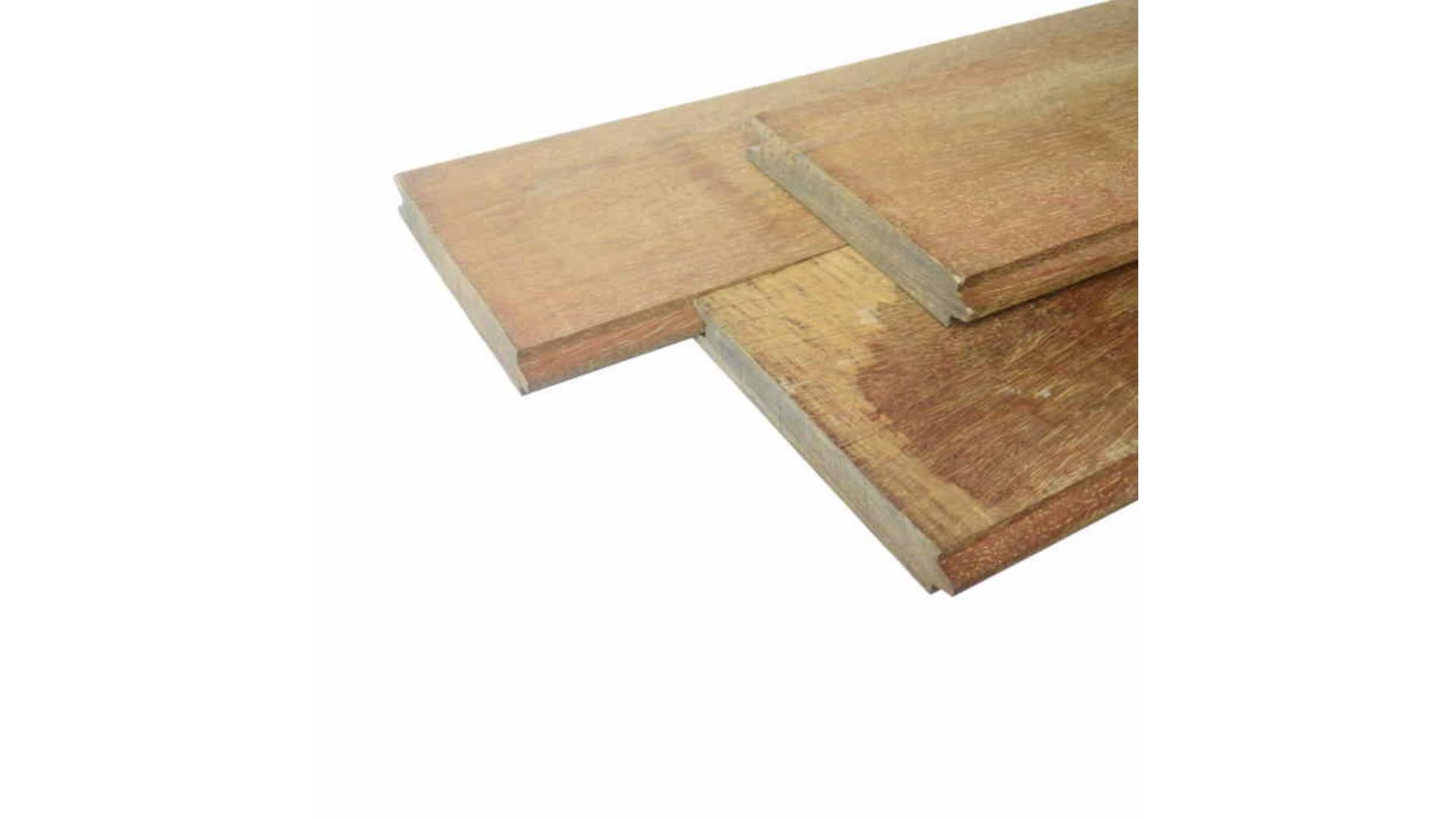 Hardhout Damwandplank 3x20x250 cm