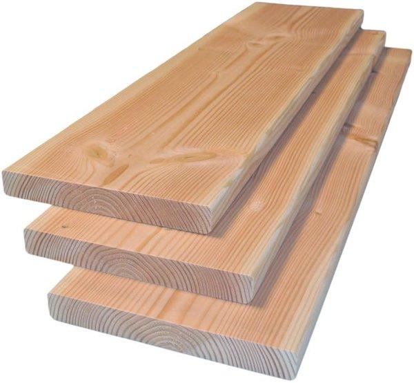 Douglas plank geschaafd 2,8x14,5  - 400 cm