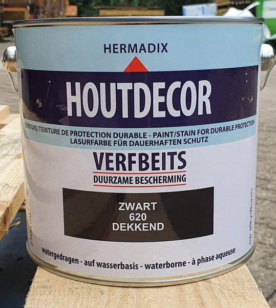 Hermadix Hermadix verf beits 620 zwart 2500 ML