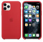 Apple Siliconenhoesje voor iPhone 11 Pro RED