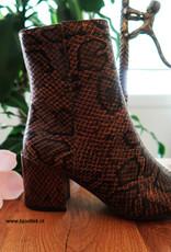 Snakeprint Boots Bruin