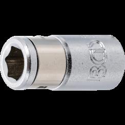 "Bit Adaptor with retaining Ball  6.3 mm (1/4"") Drive  internal Hexagon 6.3 mm (1/4"")"