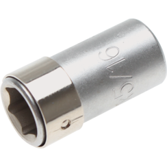 "Bit Adaptor with retaining Ball  6.3 mm (1/4"") Drive  internal Hexagon 8 mm (5/16"")"