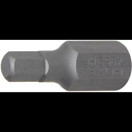 """BGS  Technic Bit  10 mm (3/8"""") Drive  internal Hexagon 6 mm"""