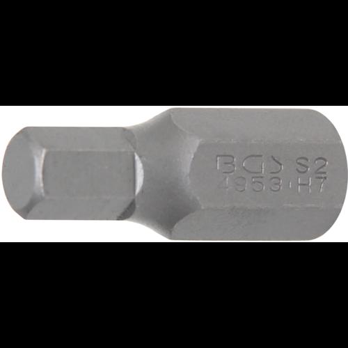 "BGS  Technic Bit  10 mm (3/8"") buitenzeskant  INBUS 7 mm"