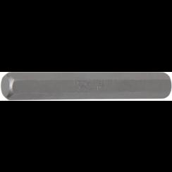 "Bit  lengte 75 mm  10 mm (3/8"") buitenzeskant  INBUS 10 mm"