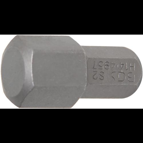 "BGS  Technic Bit  10 mm (3/8"") buitenzeskant  INBUS 14 mm"