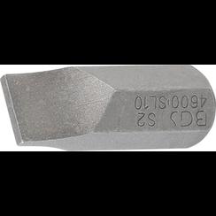 "Bit  10 mm (3/8"") buitenzeskant  sleuf 10 mm"