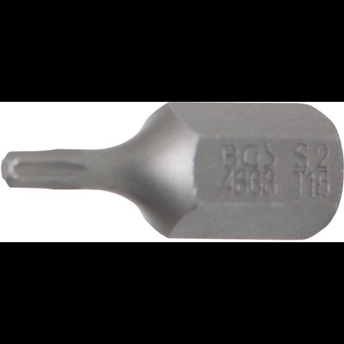 """BGS  Technic Bit  10 mm (3/8"""") Drive  T-Star (for Torx) T15"""
