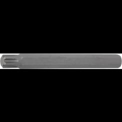 """Bit  lengte 100 mm  10 mm (3/8"""") buitenzeskant  wigprofiel (voor RIBE) M10"""