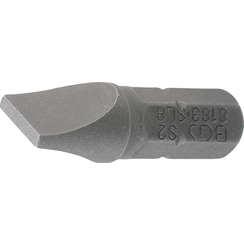 "Bit  6,3 mm (1/4"") buitenzeskant  sleuf 8 mm"