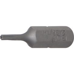 """Bit  6,3 mm (1/4"""") buitenzeskant Torx met boring T7"""