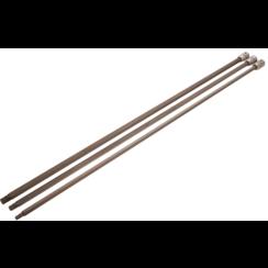 """Dopsleutelbitset  lengte 800 mm  12,5 mm (1/2"""")  veeltand (voor XZN)  voor VAG  3-dlg."""