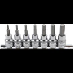 """Dopsleutelbitset  10 mm (3/8"""")  INBUS 3 - 10 mm  7-dlg"""