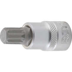 "Impact Bit Socket  10 mm (3/8"") Drive  Spline (for XZN) M12"
