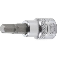 "Bit Socket  10 mm (3/8"") Drive  internal Hexagon 7 mm"