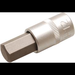 "Bit Socket  10 mm (3/8"") Drive  internal Hexagon 12 mm"