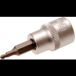 """Dopsleutelbit  10 mm (3/8"""")  INBUS met kogelkop 3 mm"""