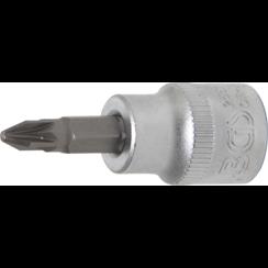 "Dopsleutelbit  10 mm (3/8"")  kruiskop PZ2"