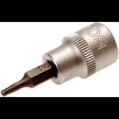 "Dopsleutelbit  10 mm (3/8"") Torx T10"