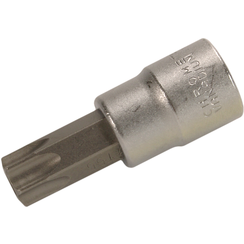"Bit Socket  10 mm (3/8"") Drive  T-Star tamperproof (for Torx) T55"