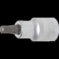 """Dopsleutelbit  12,5 mm (1/2"""")  veeltand (voor XZN) M8"""